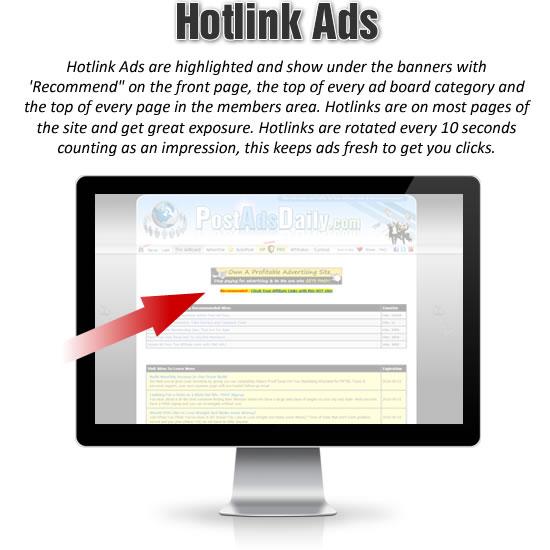 Hotlink Ads