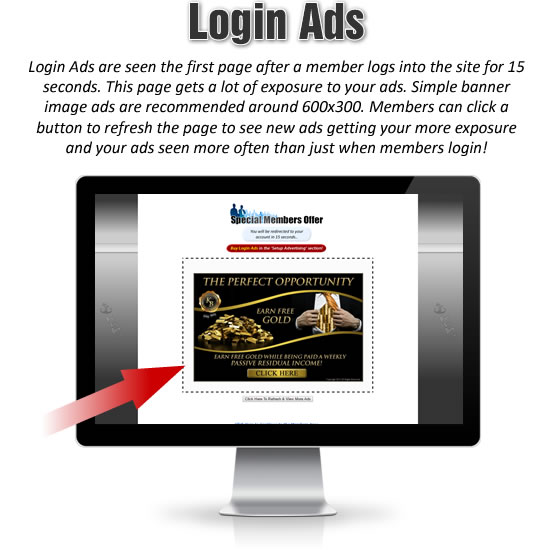 Login Ads